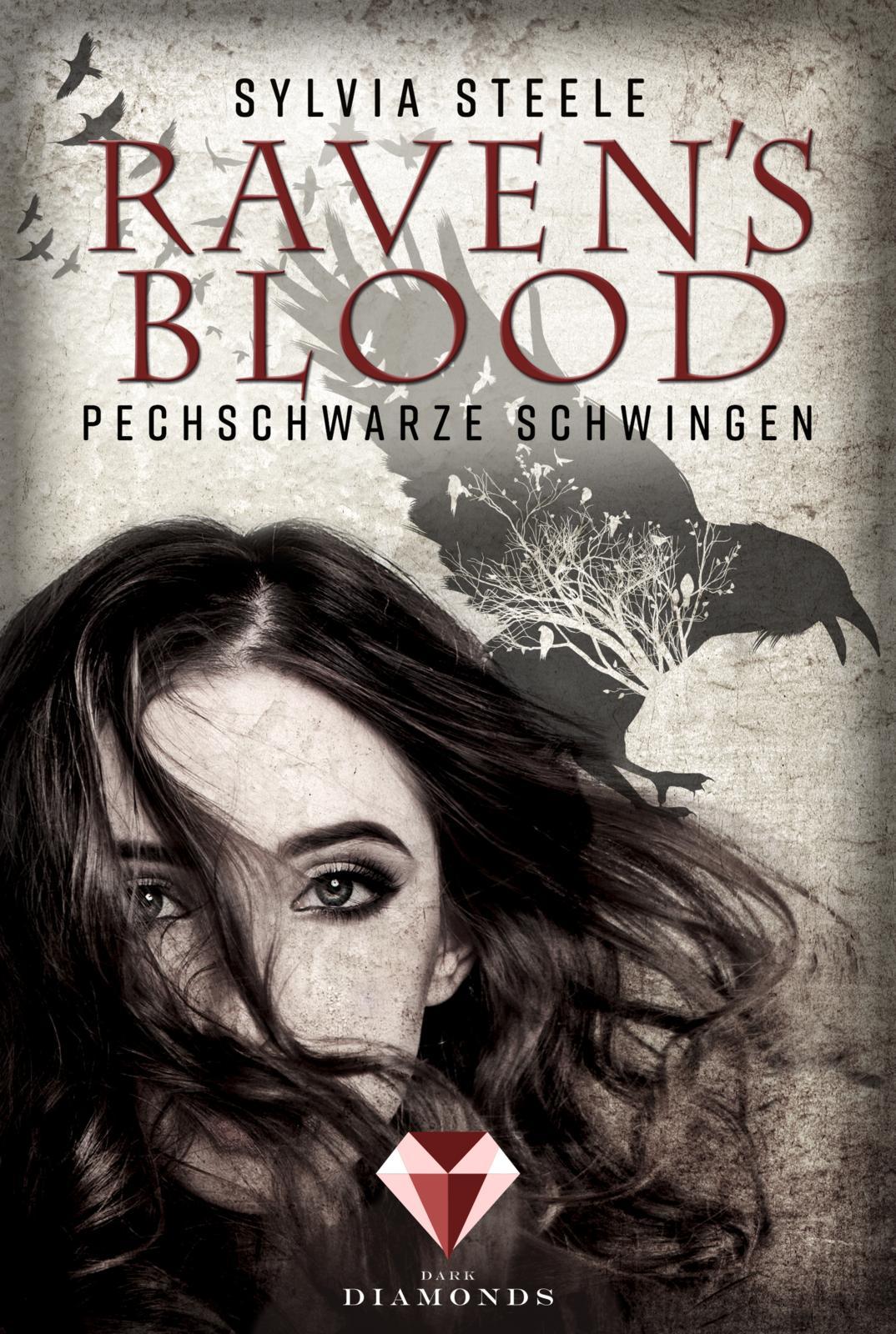 Steele, Sylvia: Raven's Blood - Pechschwarze Schwingen