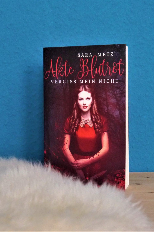 Akte Blutrot, Sara Metz, Papierverzierer Verlag